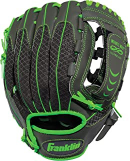 Franklin Sports Teeball Infinite Web/Shok-Sorb Combo Series Fielding Glove, 10.5-Inch