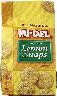 Midel Cookie Snap Lemon