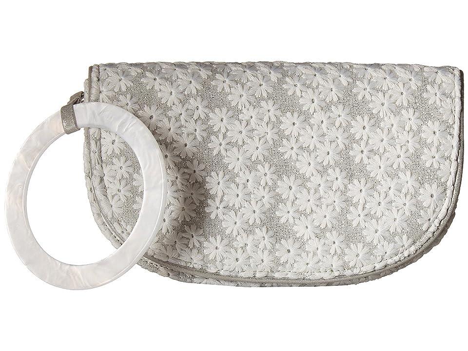 Nina Decatur (Silver) Wristlet Handbags