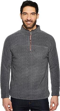 True Grit - Herringbone Fleece 1/4 Zip Pullover