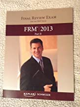Final Review Exam for the FRM Exam FRM 2013 Part 2