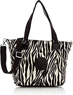 Women's Shopper Combo S Shoulder Bag, Zebra Block