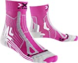 X-Socks Damen Socken TRAIL RUN ENERGY LADY, Pink/Pearl Grey, 35/36, X100108