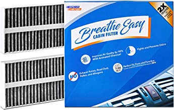 Spearhead Premium Breathe Easy Cabin Filter, Up to 25% Longer Life w/Activated Carbon (BE-388)