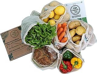 bun-di ECO 6er Set Wiederverwendbare Obst- und Gemüsebeutel