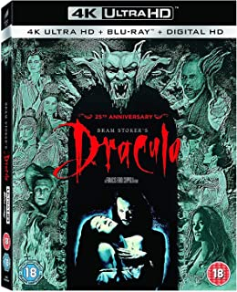 Bram Stoker's Dracula - 25th Anniversary Edition | 4K Ultra HD + Blu-ray | Arabic Subtitle Included