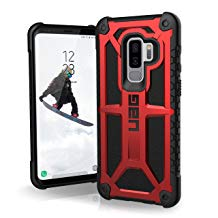 Urban Armor Gear Feather-Light Rugged Military Drop Phone Case(Monarch and Crimson)