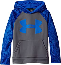 Armour Fleece Big Logo Printed Hoodie (Big Kids)