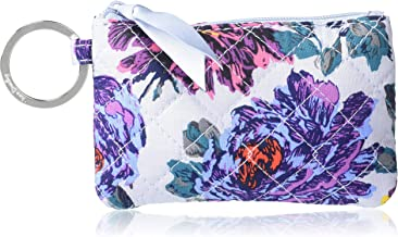Vera Bradley Women's Recycled Cotton Zip ID Case Wallet