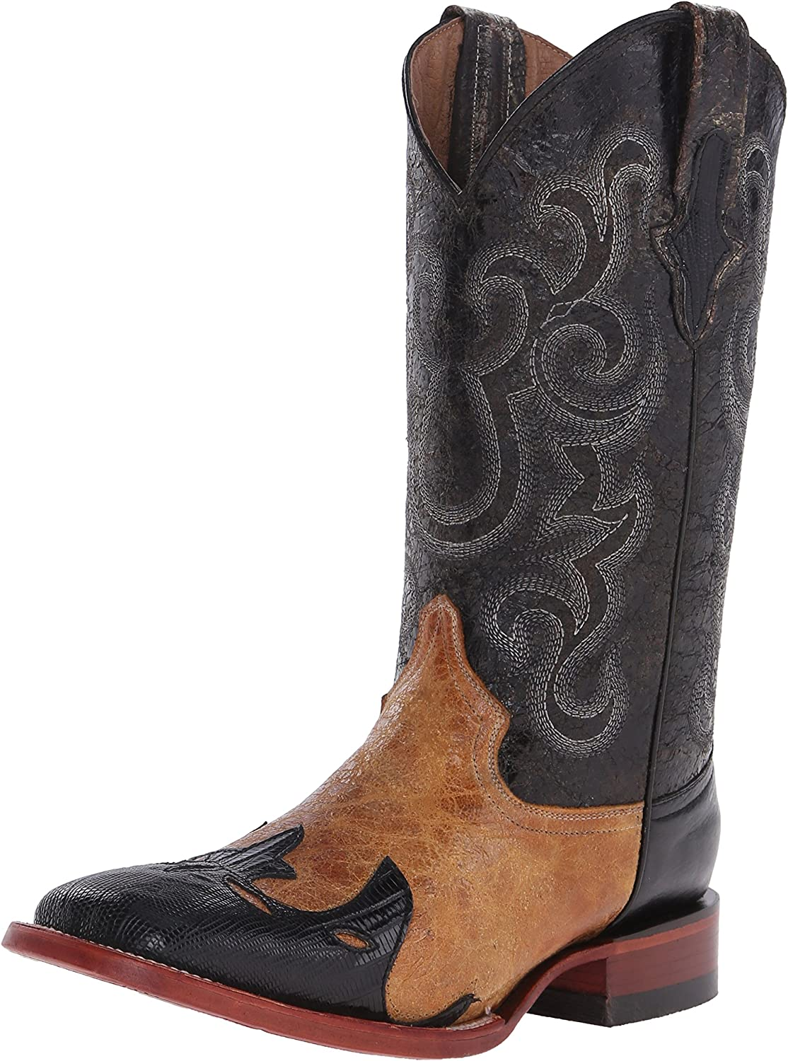 Ferrini Men's Lizard Wingtip Western Boot