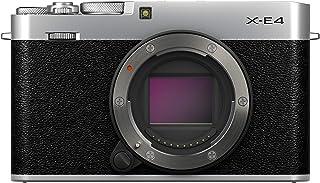 FUJIFILM X-E4 Mirrorless Digital Camera, Silver