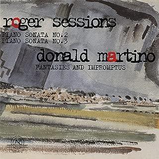 Roger Sessions and Donald Martino: Piano Sonatas