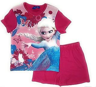 Pijama Frozen Ni/ña Tirantes Elsa y Anna Fucsia