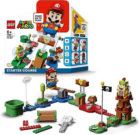 LEGO71360SuperMarioPackInicial:AventurasconMarioSetInteractivoconFiguras
