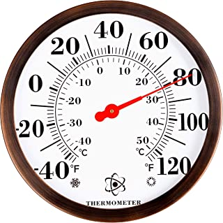 Best large outdoor garden thermometer Reviews