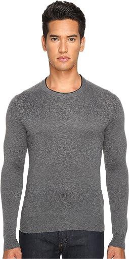 Jersey Stitch Crew Neck Sweater