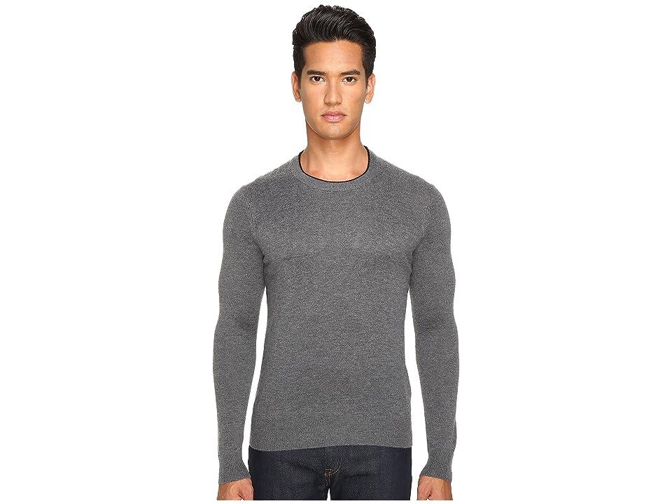 Jack Spade Jersey Stitch Crew Neck Sweater (Grey) Men