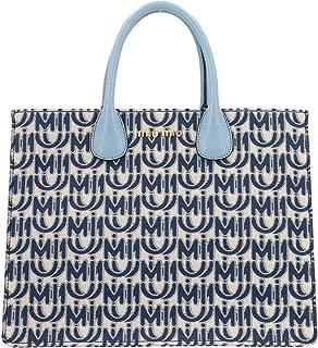 Luxury Fashion   Miu Miu Womens 5BG1562CAGF0ZHW Blue Tote   Fall Winter 19