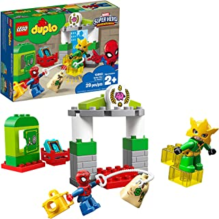 LEGO DUPLO Marvel Super Hero Adventures Spider-Man vs Electro 10893 Building Blocks, 2019 (29 Pieces)