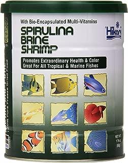 Hikari Bio-Pure Freeze Dried Spirulina Brine Shrimp Cubes for Pets, 1.76-Ounce