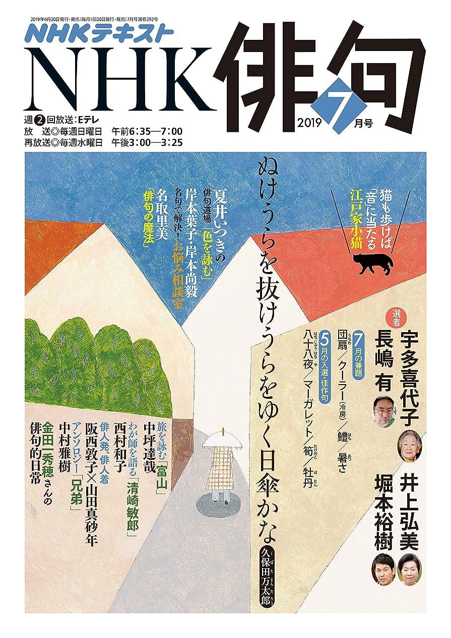 幸運なことに留め金パスNHK 俳句 2019年 7月号 [雑誌] (NHKテキスト)