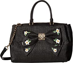 Betsey Johnson - Daisy'd & Confused Bow Satchel