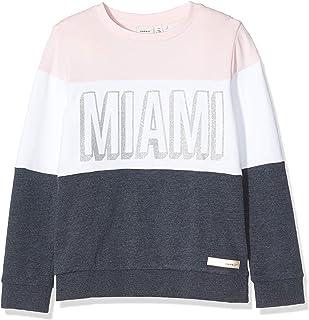 NAME IT meisjes sweater NKFTMIAMI SWE UNB