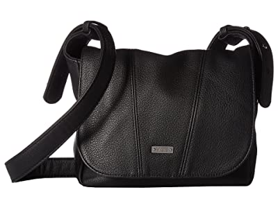 Vans Linear Crossbody (Black) Cross Body Handbags