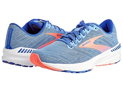 Brooks Ravenna 11 (Cornflower Blue/Coral) Women