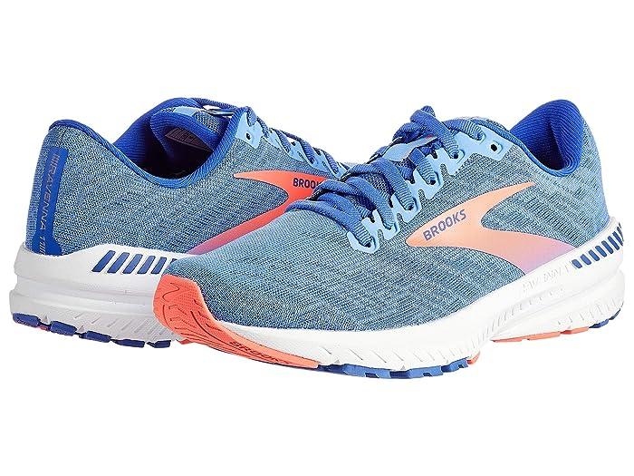 Brooks  Ravenna 11 (Cornflower Blue/Coral) Womens Running Shoes