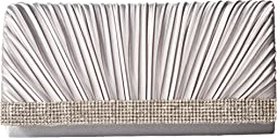 Jessica McClintock - Chloe Pleated Satin Clutch