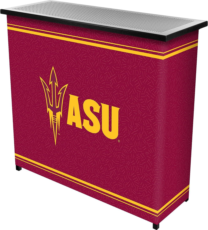 NCAA Portable Shelf Bar with Carrying Case (2Piece)