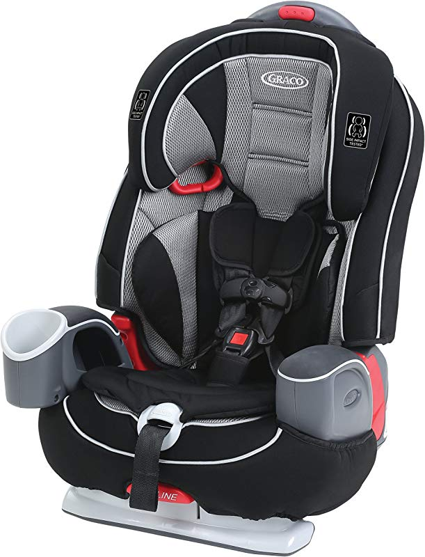 Graco Nautilus 65 LX 3 In 1 Harness Booster Car Seat Matrix