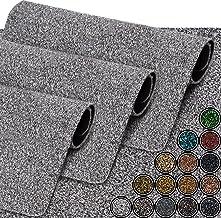 GadHome Waterabsorberende deurmat, grijs/absorberend, 40 cm x 60 cm, deurmat voor binnen en buiten, antislip, wasbare, sne...