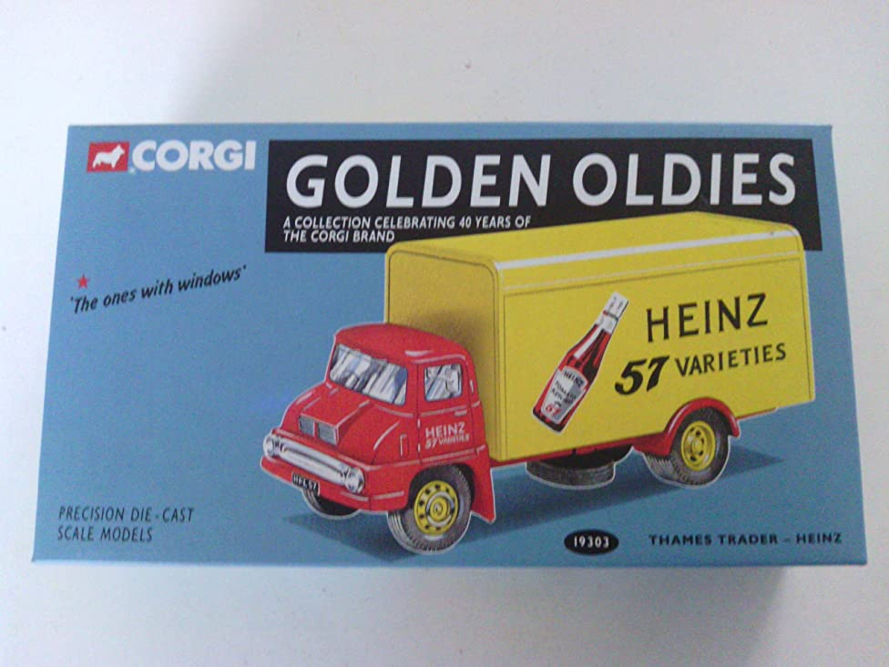 Corgi Golden Oldies 40th Anniversary HEINZ 57 - THAMES TRADER Precision Die Cast Lorry Truck 1/50th Scale Model