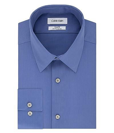 Calvin Klein Dress Shirts Non Iron Slim Fit Solid