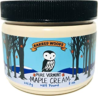 Pure Vermont Maple Cream - Barred Woods Maple Products - Maple Butter
