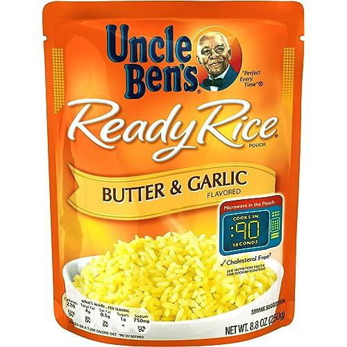 UNCLE BEN'S Ready Rice: Butter & Garlic, 8.8oz