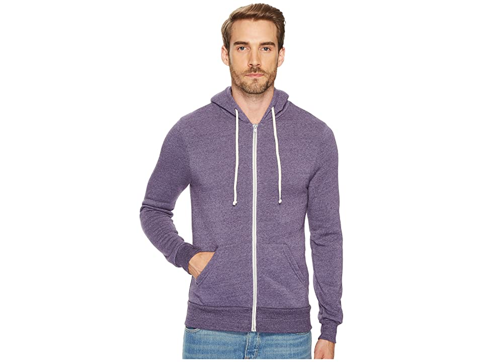 Alternative Rocky Zip Hoodie (Eco True Deep Purple) Men