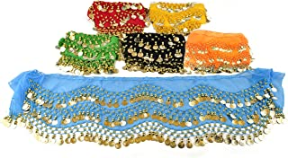 hip scarves with coins wholesale