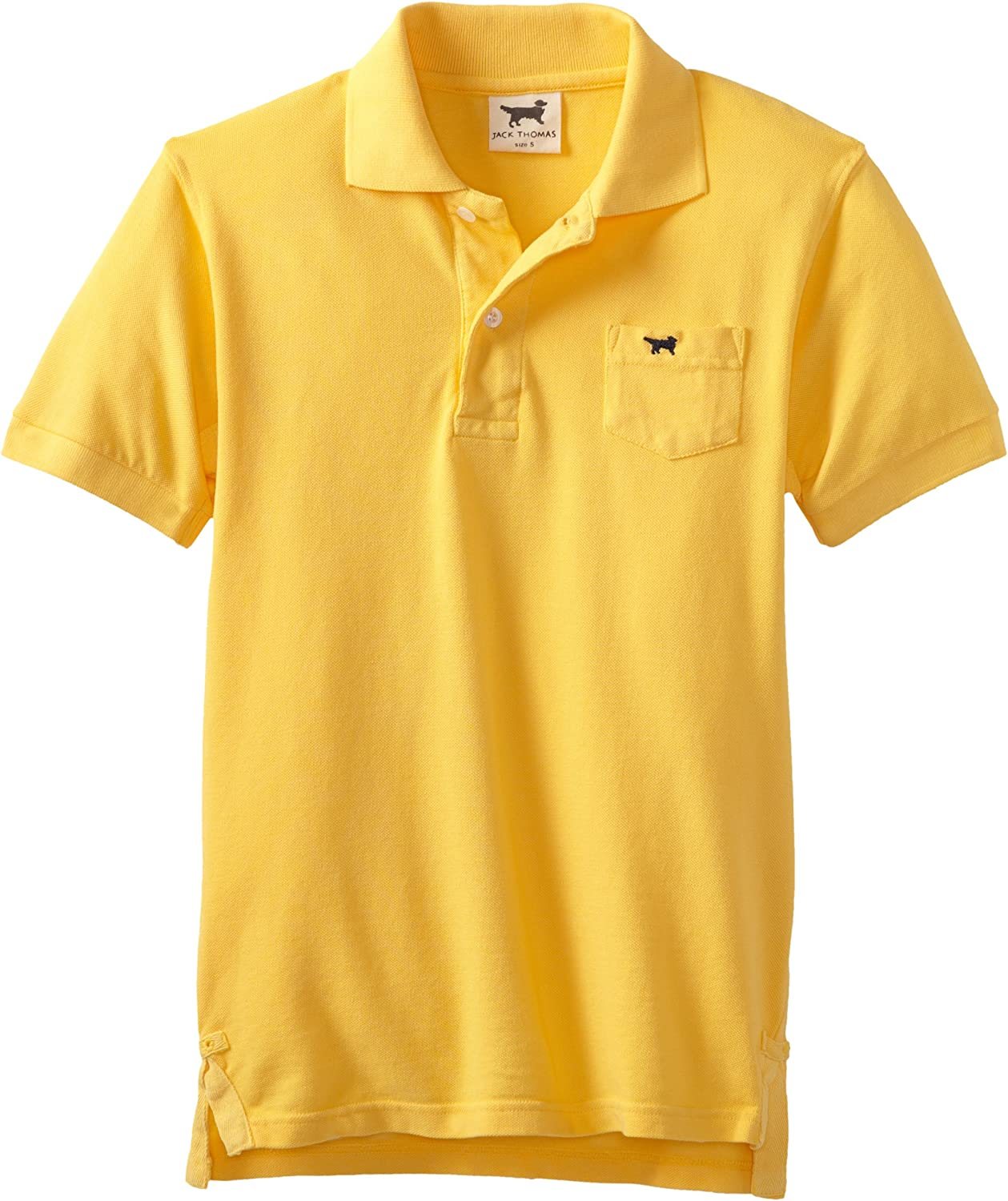 Wes and Willy Big Boys' Short Sleeve Polo