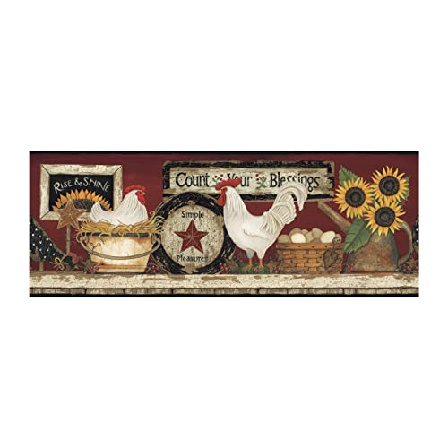 Country Kitchen Wallpaper Borders: Amazon.com