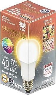 オーム電機 LED電球 E26 40形相当 電球色 LDA5L-G AG6/RA93 06-3855 OHM
