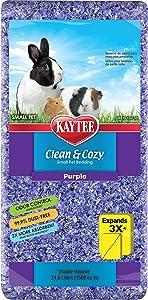Kaytee Clean & Cozy Purple Bedding