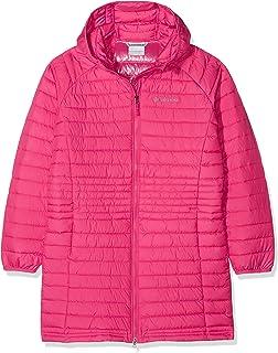 Columbia 哥伦比亚女童中长款夹克,Powder Lite Girls Mid Jacket,聚酯纤维