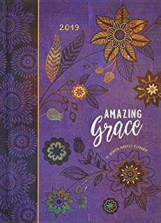 Amazing Grace 2019 Planner (Hardcover): 16-month Weekly Planner