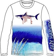 Guy Harvey Men's Long Sleeve Performance Shirt (Assorted Designs)
