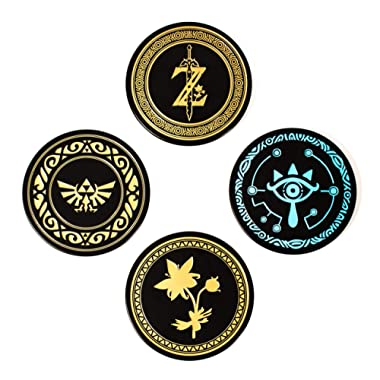 Paladone The Legend of Zelda Metal Drink Coasters