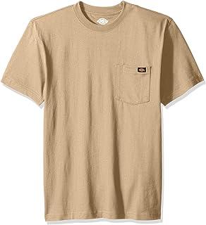 Dickies Men's Short Sleeve Heavyweight Heathered Crew Neck Tee T-Shirt