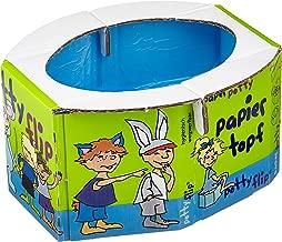 80 St/ück universal Einweg-Toilettensitz-Beutel f/ür Reisen f/ür Kinder Kleinkinder mit Kordelzug f/ür Toilettentraining